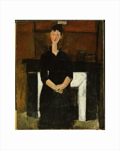 Woman Seated by a Fireplace, 1915 by Amedeo Modigliani