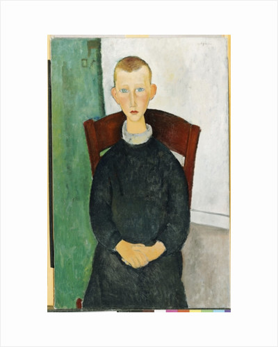 The Caretaker's Son, 1918 by Amedeo Modigliani