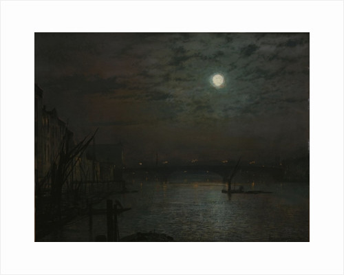 Southwark Bridge by Moonlight, 1882 by John Atkinson Grimshaw