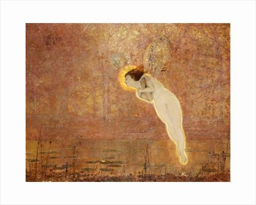 Iris by John Atkinson Grimshaw