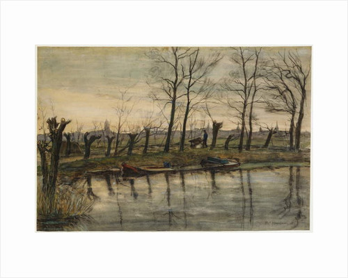 Farmer Returning to the Fields, c.1900 by Piet Mondrian