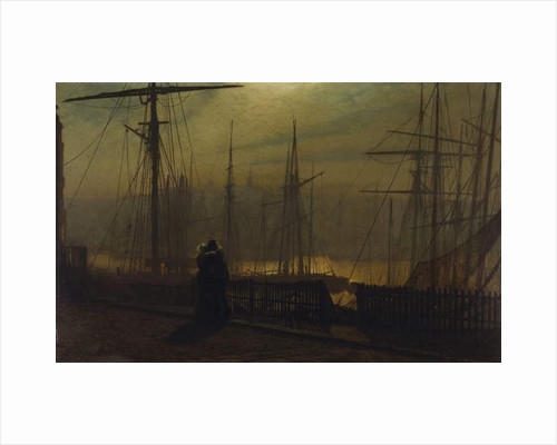 Home Again by John Atkinson Grimshaw