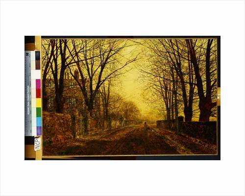Nocturne in Gold, 1872 by John Atkinson Grimshaw
