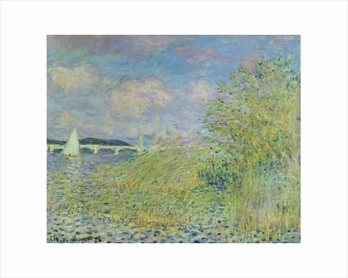 The Seine at Chatou near Argenteuil, 1878 by Claude Monet