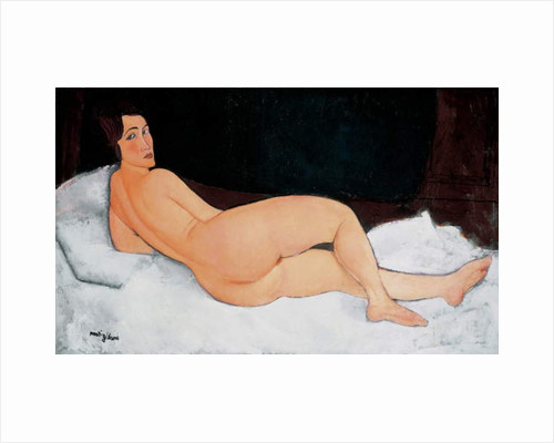 Resting Nude 1917 by Amedeo Modigliani
