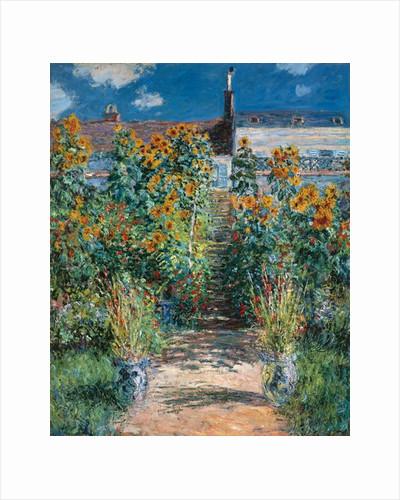 L'Escalier à Vétheuil, 1881 by Claude Monet