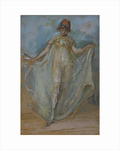 Green and Gold, The Dancer by James Abbott McNeill Whistler