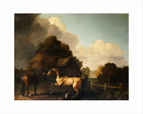 Stallion and Mare, traditionally called 'Jupiter and Mare' by George Stubbs
