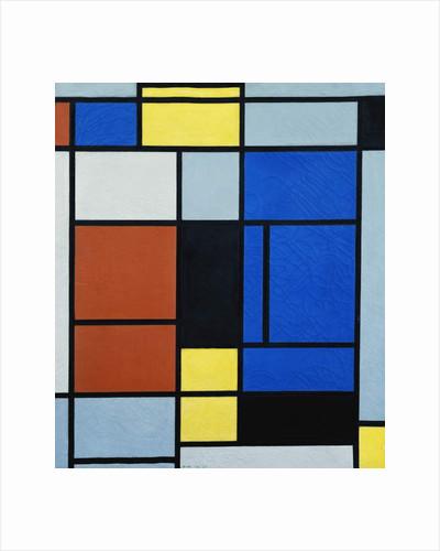 Tableau No.1, 1925 by Piet Mondrian