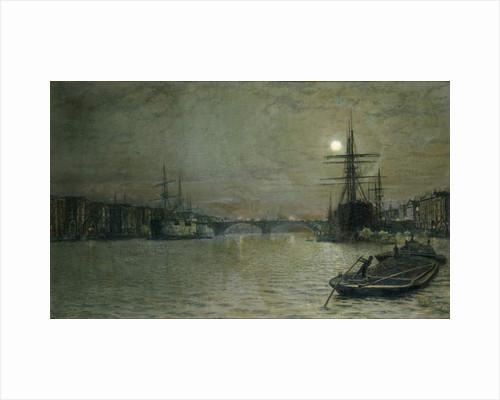 The Pool and London Bridge at Night, 1884 by John Atkinson Grimshaw