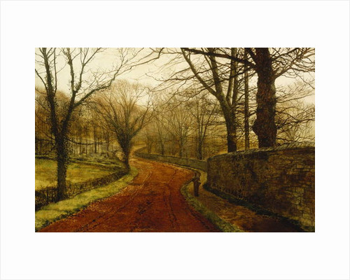 Stapleton Park, Pontefract, 1877 by John Atkinson Grimshaw