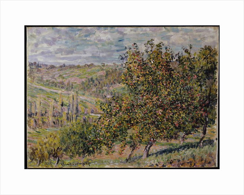 Apple Blossom, 1878 by Claude Monet