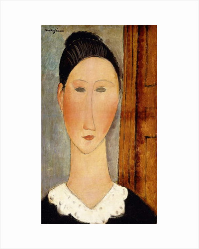 Head of Girl by Amedeo Modigliani