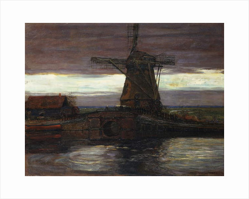 The Mill by Piet Mondrian