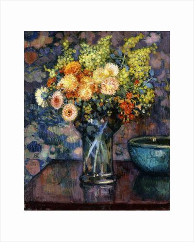 Vase of Flowers; Vase de Fleurs, c.1911 by Theo van Rysselberghe