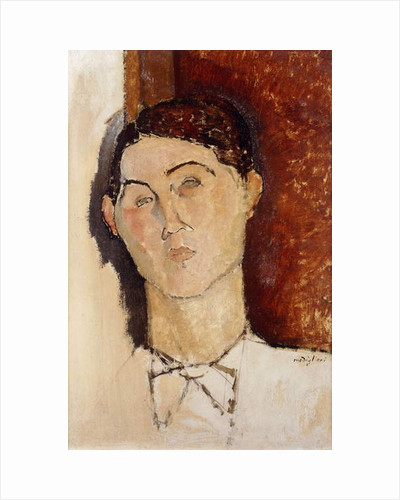 Head of a Young Man; Tete de Jeune Homme, c.1916 by Amedeo Modigliani