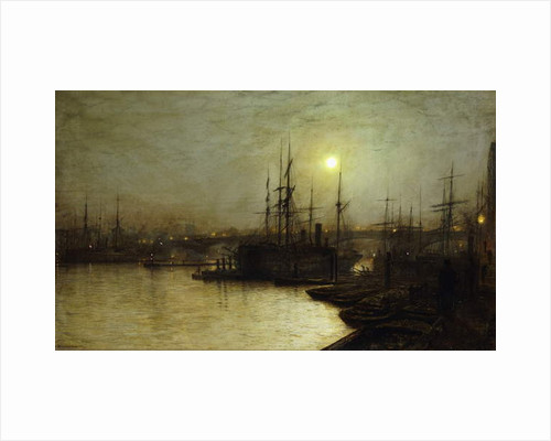 Night Toil, Billingsgate Wharf by John Atkinson Grimshaw