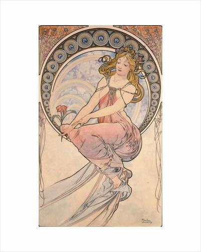 La Peinture, 1898 by Alphonse Marie Mucha