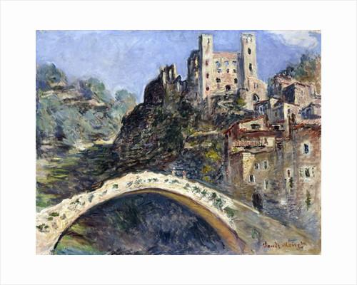 Dolceacqua, 1884 by Claude Monet