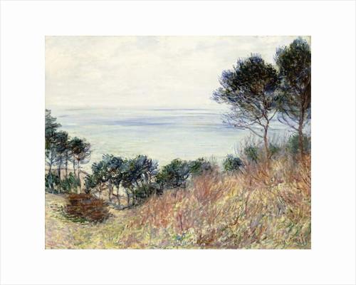 The Coast of Varengeville, 1882 by Claude Monet