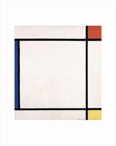 Composition III with Red, Yellow and Blue, 1927 by Piet Mondrian