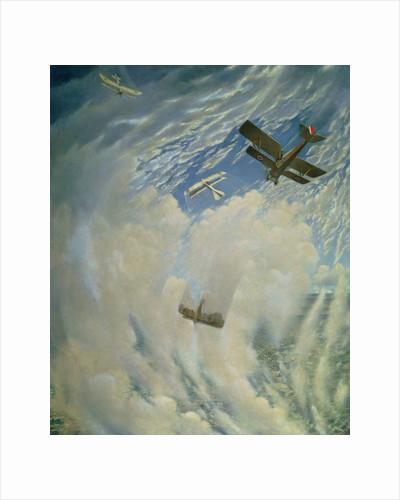 War in the Air, 1918 by Christopher Richard Wynne Nevinson