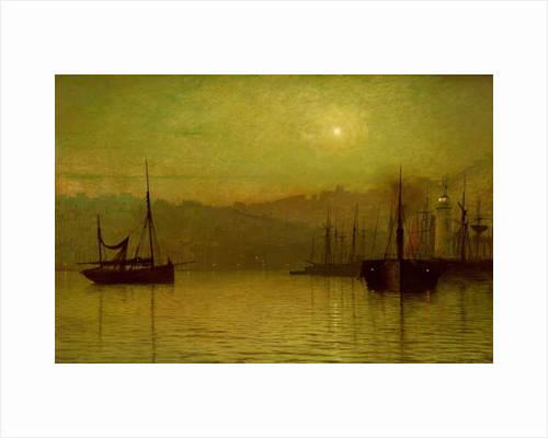 Calm Waters, Scarborough, 1880 by John Atkinson Grimshaw