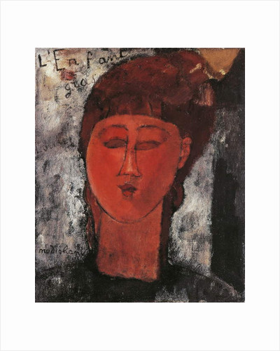 The Fat Child, 1915 by Amedeo Modigliani