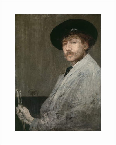 Arrangement in Grey: Portrait of the Painter, c.1872 by James Abbott McNeill Whistler