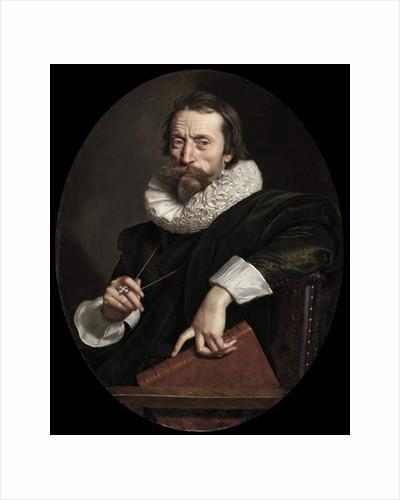 Portrait of the Italian poet, Giambattista Marino, c.1621 by Frans II Pourbus
