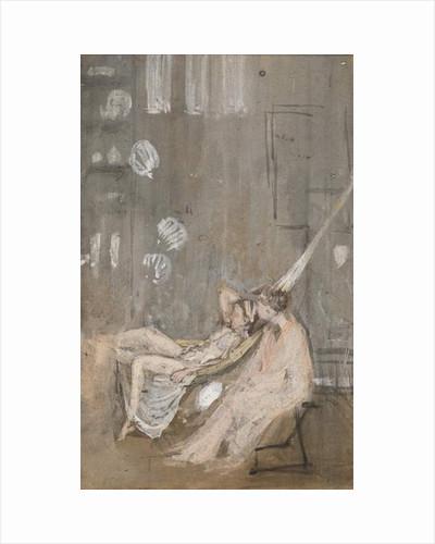In the Studio, c.1867-68 by James Abbott McNeill Whistler