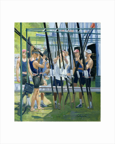 Collecting Oars by Timothy Easton
