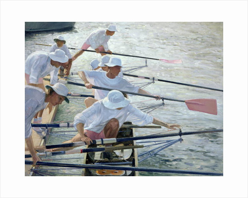 Securing Oars, Henley by Timothy Easton