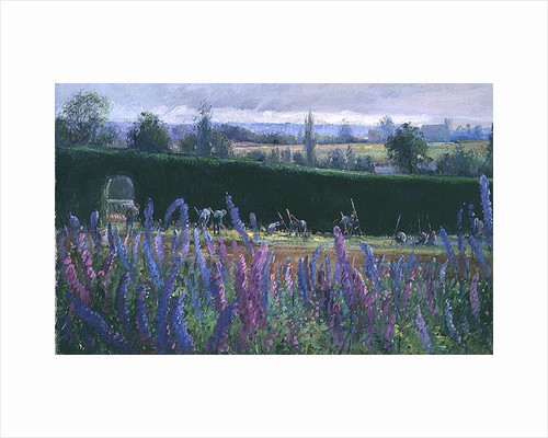 Hoeing Against the Hedge by Timothy Easton