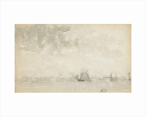 Grey and Silver - North Sea, c.1884 by James Abbott McNeill Whistler