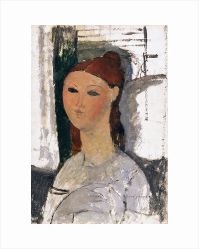 Young Woman, Seated, c.1915 by Amedeo Modigliani