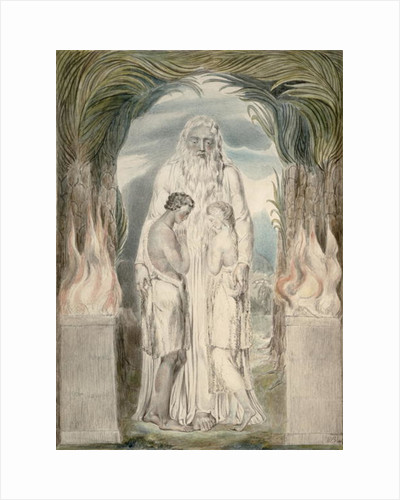 The Angel of the Divine Presence by William Blake