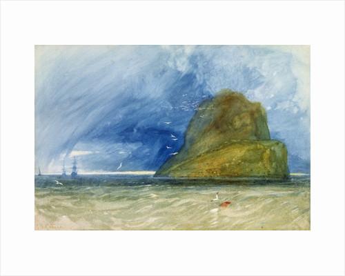 The Bass Rock, Scotland by John Sell Cotman