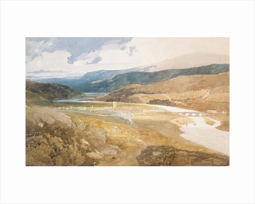 Dolgelly, North Wales by John Sell Cotman