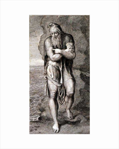 Joseph of Arimathea among the rocks of Albion by William Blake