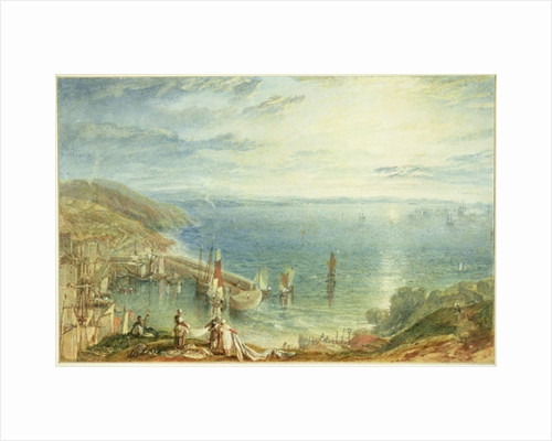 Torbay from Brixham by Joseph Mallord William Turner
