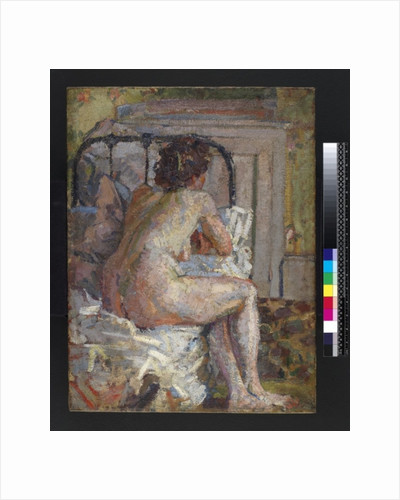 Nude on a bed by Harold Gilman
