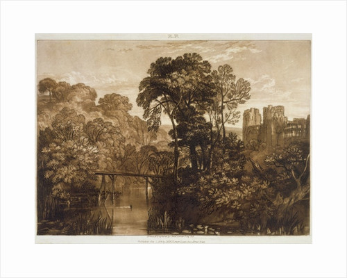 Berry Pomeroy Castle by Joseph Mallord William Turner