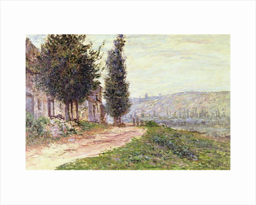 Riverbank at Lavacourt, 1879 by Claude Monet