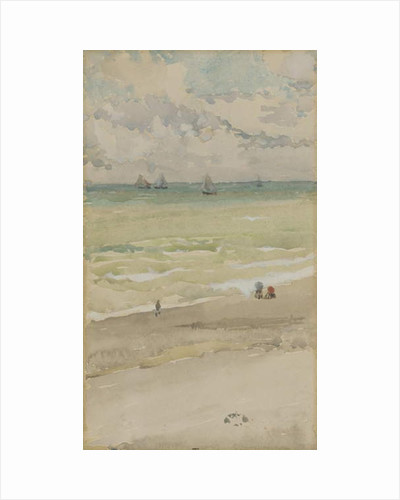 The Seashore, c.1885 by James Abbott McNeill Whistler