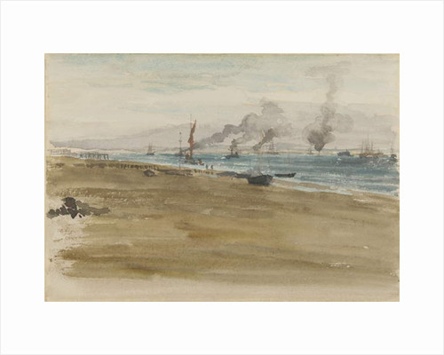 The Mouth of the River, 1876/77 by James Abbott McNeill Whistler