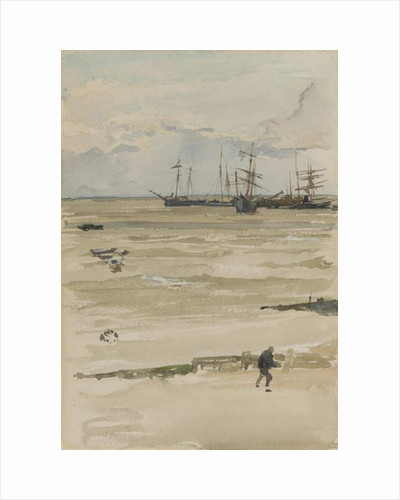 The Anchorage, 1883/84 by James Abbott McNeill Whistler