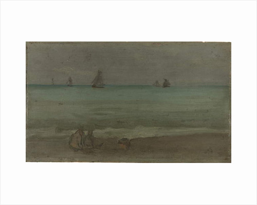 The Summer Sea, 1880s by James Abbott McNeill Whistler