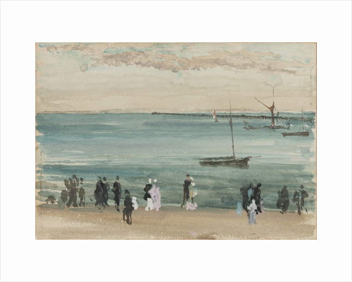 Southend Pier, 1883-84 by James Abbott McNeill Whistler