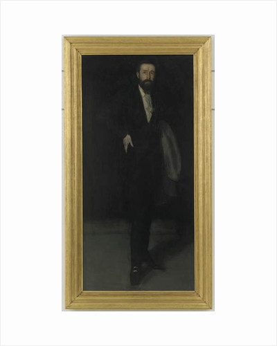 Arrangement in Black: Portrait of F.R. Leyland, c.1870 by James Abbott McNeill Whistler